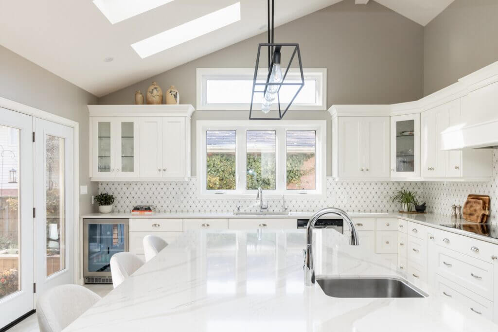 Menno S Martin Dream Kitchen Renovation, a study in white and light
