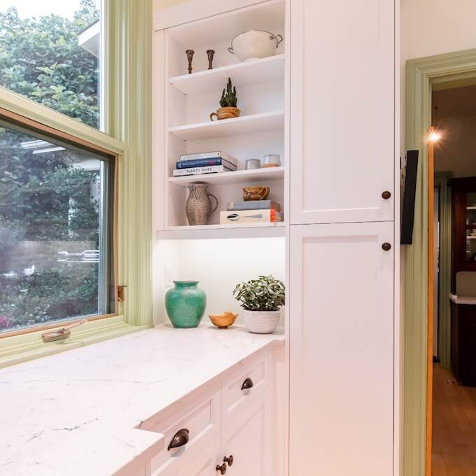 Optimizing space in a small kitchen renovations with Menno S Martin